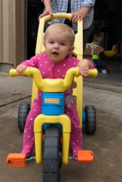 Tori on Bike
