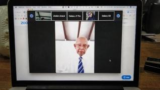 Dr Nair Preaching via Zoom